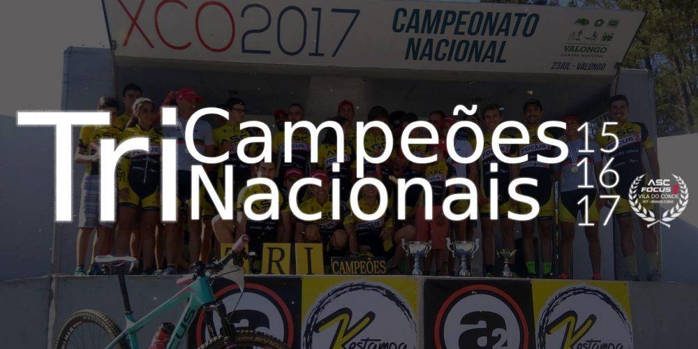 Tri Campeões Nacionais XCO